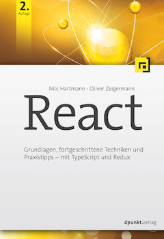 Cover React Buch